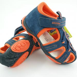 Detské sandálky Protetika Sid Orange
