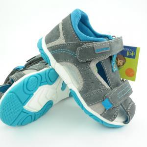 Detské sandálky Protetika Rivas Grey