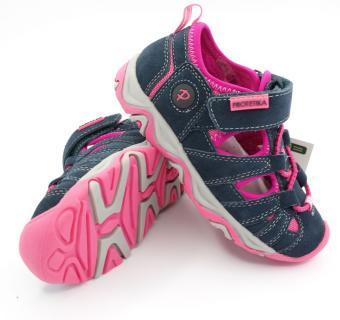 Detská letná obuv Protetika DAFY fuxia