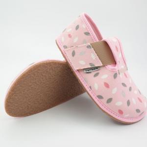 PEGRES barefoot papuče BF01 ružová