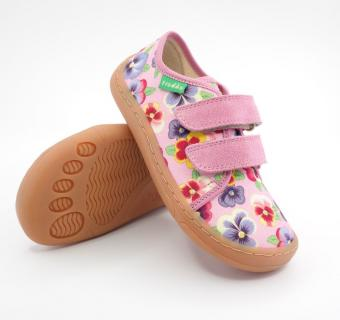 Detské barefoot plátenky Froddo G1700302-7 PINK