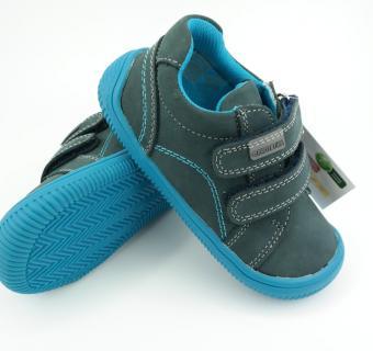 Detské barefoot topánky Protetika Lars Denim