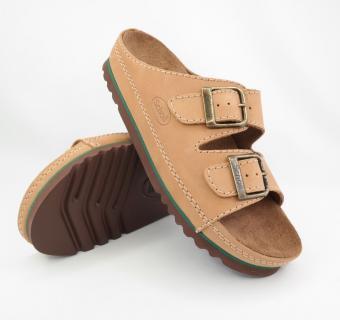 Zdravotná obuv Scholl, AIR BAG Nublimed U, Prírodná