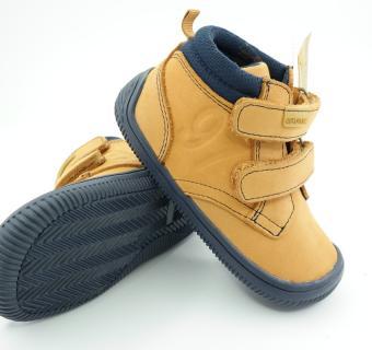 Detské barefoot topánky Protetika Fox Brown