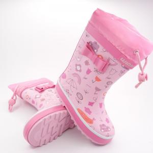 Detské zateplené gumáky Wink BD12502 Pink