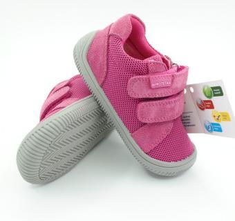 Detské barefoot topánky Protetika Dony Fuxia