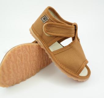 Detské inovatívne papuče RAK 100014-4 Hnedá