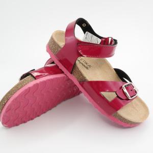 Detské sandále Protetika ORS T 99 vzor 20 - Malinová