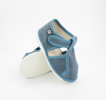 Detské papuče RAK 100015 - Džínsovina