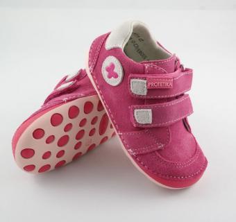 Detské barefoot topánky Protetika Fergus Fuxia