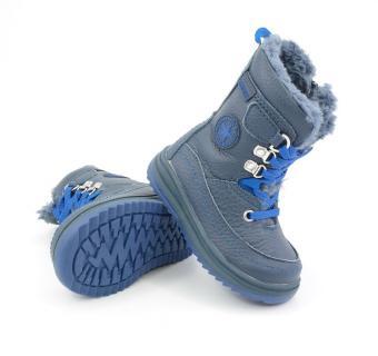 Zimná detská obuv Protetika Bory blue
