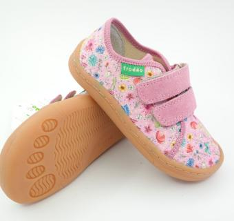 Detské barefoot plátenky Froddo G1700283-1 PINK