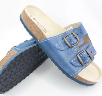 Šľapky Protetika ORS T 13 modrá - limoges