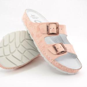 Batz dámske zdravotné šľapky Zorka pink camouflage