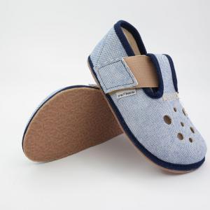 PEGRES barefoot papuče BF03 modrá