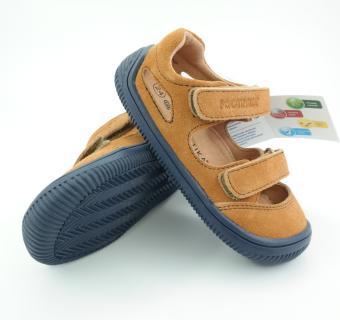 Detské letné barefoot topánky Protetika Berg Beige