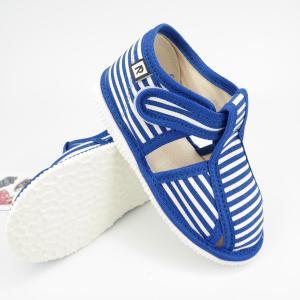 Detské papuče RAK 100015-3 - Modrý pásik