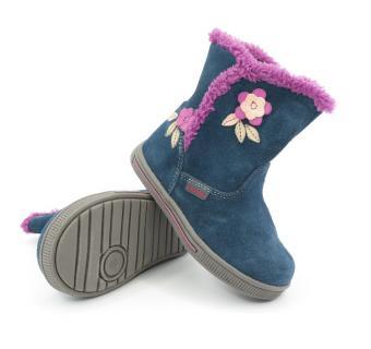 Zimná detská obuv Protetika SIMONA Navy