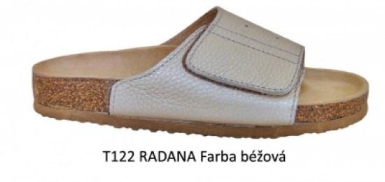 49e38bff861f Šľapky Protetika ORS T 122 Radana - Béžové - Ortopedicko ...