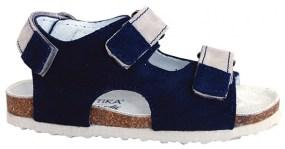 f93d289cd6bc Detské sandále Protetika ORS T 102 modro-bežové - Ortopedicko ...
