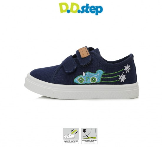 Plátenky D.D.step CSB-102 ROYAL BLUE