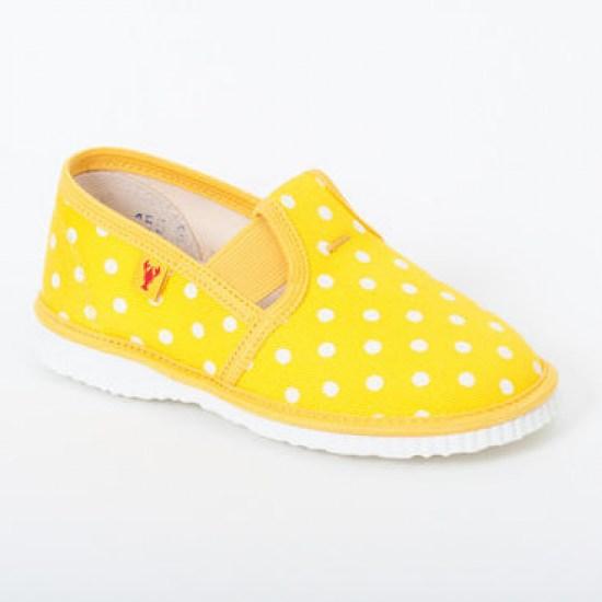 Detské papuče RAK 2-943022 - Žltá bodka - Papučky pre deti ... 53215a0424