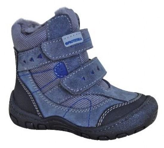 6153de79d Zimná detská obuv Protetika LAROS grey - Zimná obuv pre deti ...