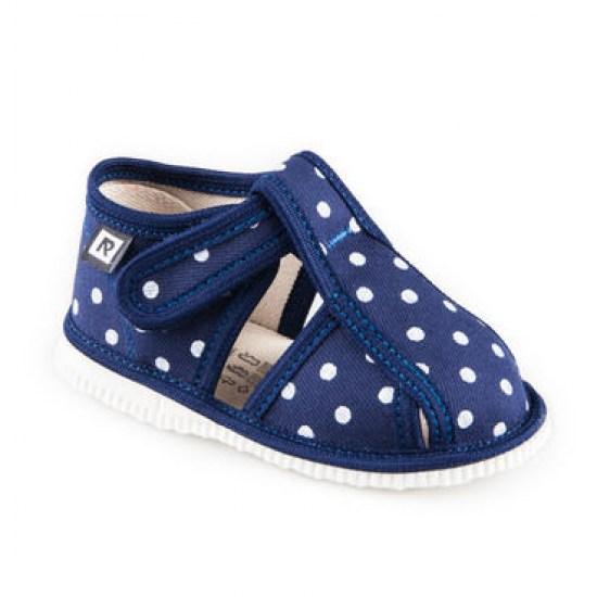 a7e5eaa6fee0 Detské papuče RAK 1-100015 - Modrá bodka - Papučky pre deti ...