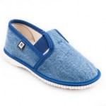 Detské papuče RAK 943022 - Džínsovina 90eecb40d7