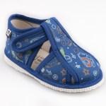 Detské papuče RAK 1-100015 - Modrá bodka - Papučky pre deti ... 4f724b308f