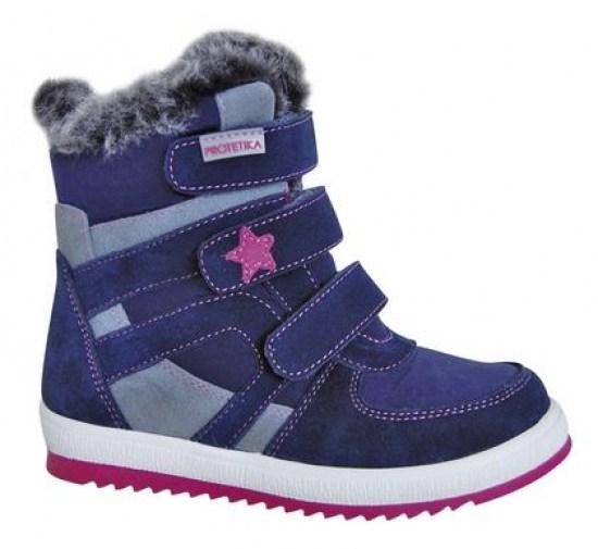 6fb9dbf758872 Zimná detská obuv Protetika PENY navy - Zimná obuv pre deti ...